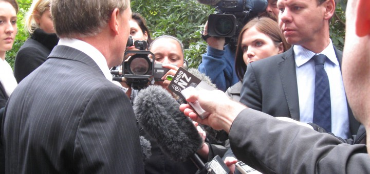 TV3 political editor and then Labour leader Phil Goff, 2011 (original image)