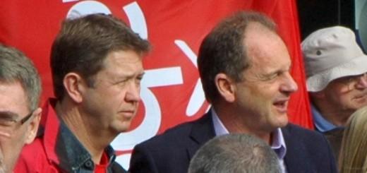 David Shearer and David Cunliffe