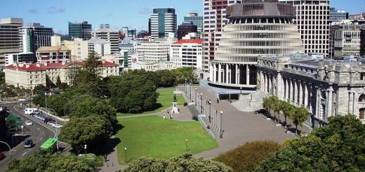 Parliament buildings, Wellington.