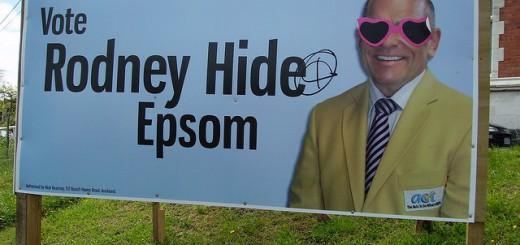 Rodney Hide Epsom billboard